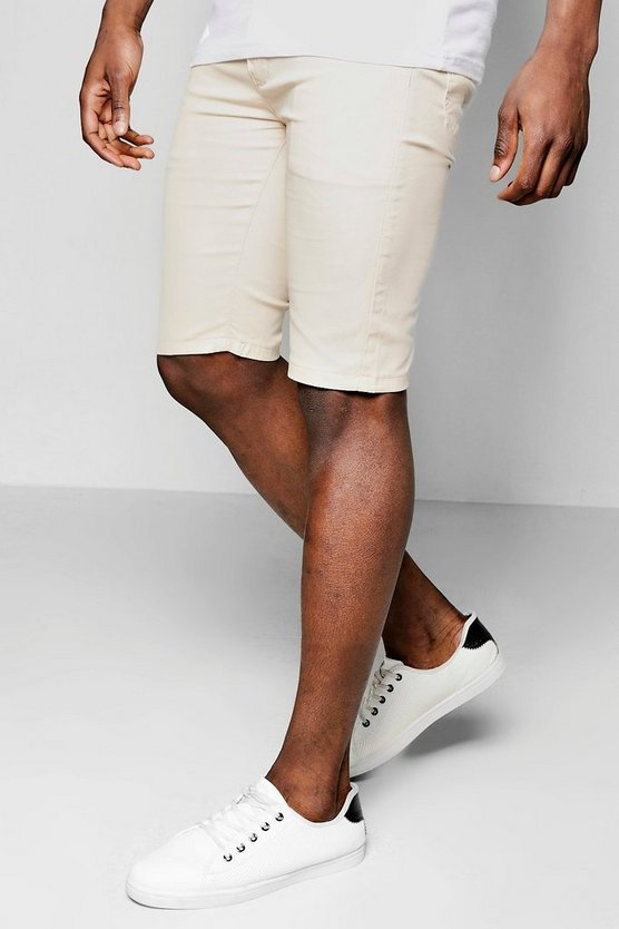 short chino skinny stretch