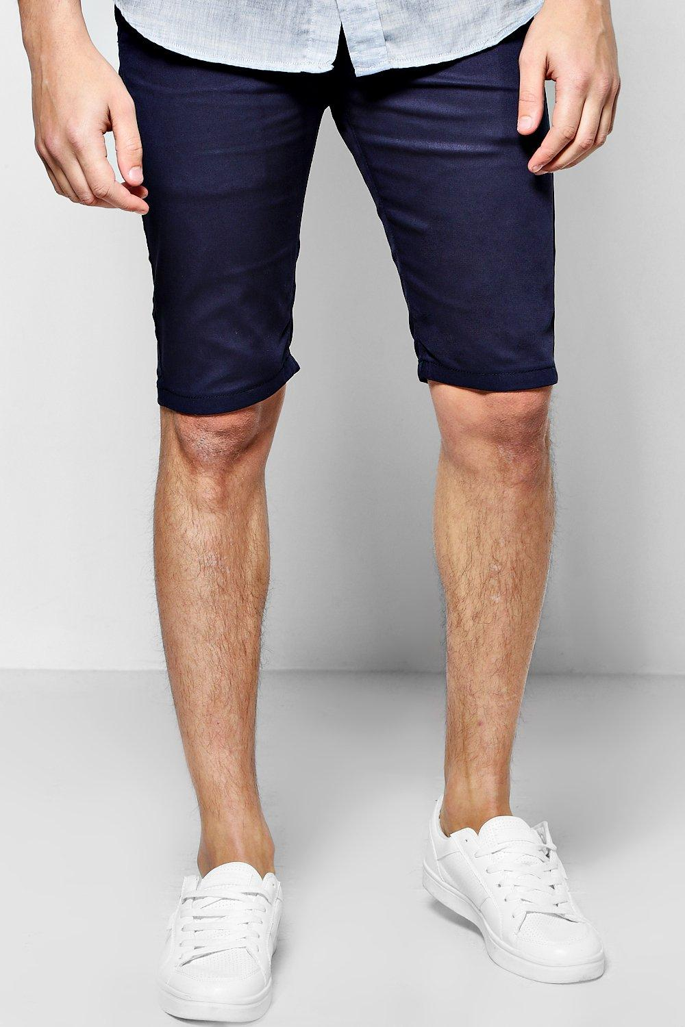 Skinny Stretch Chino Shorts