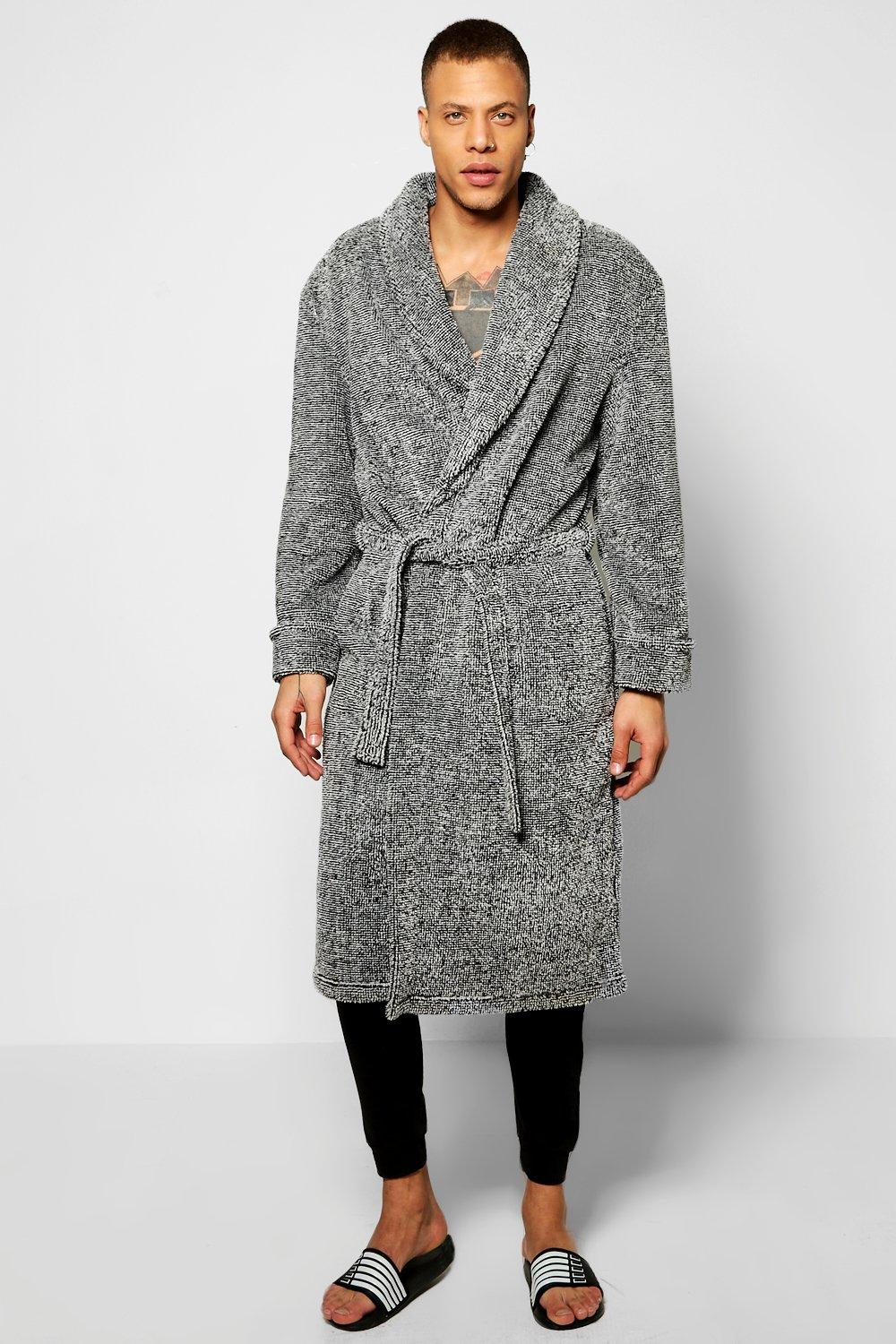 Shawl Collar Marl Robe