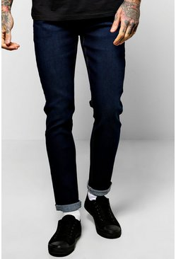 Stretch Skinny Fit Washed Jeans