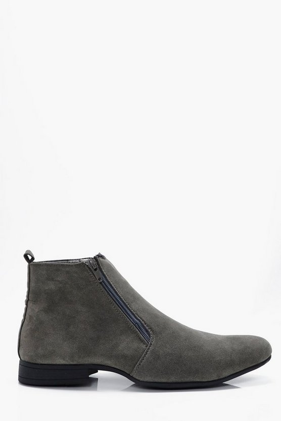 Zip Up Chelsea Boot