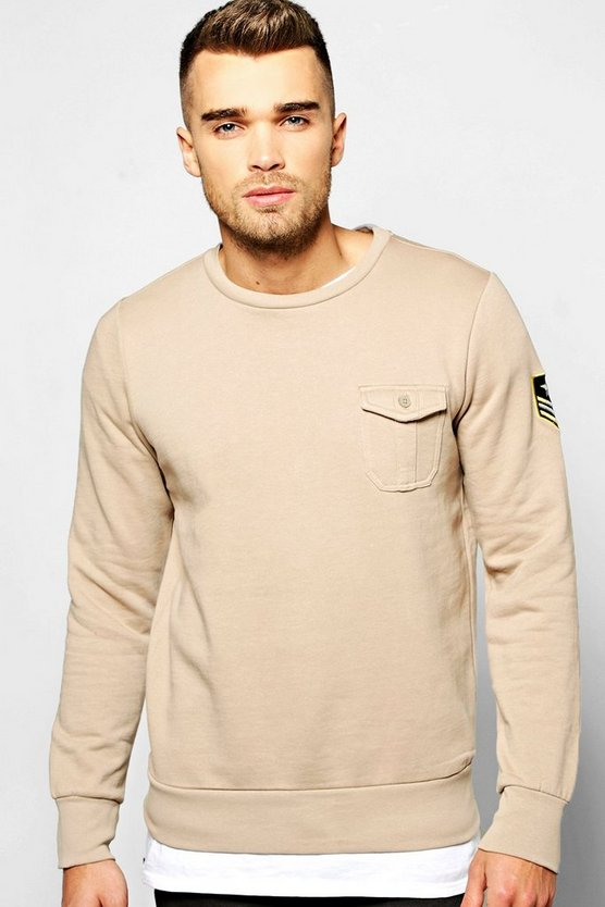 Over The Head Sweatshirt With Pocket