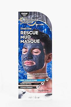 Maschera uomo fango mar morto