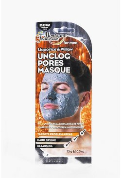Mens Liquorice And Willow Unclog Pore Masque