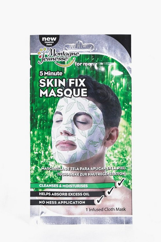 Mens 5 Minute Skin Fix Masque