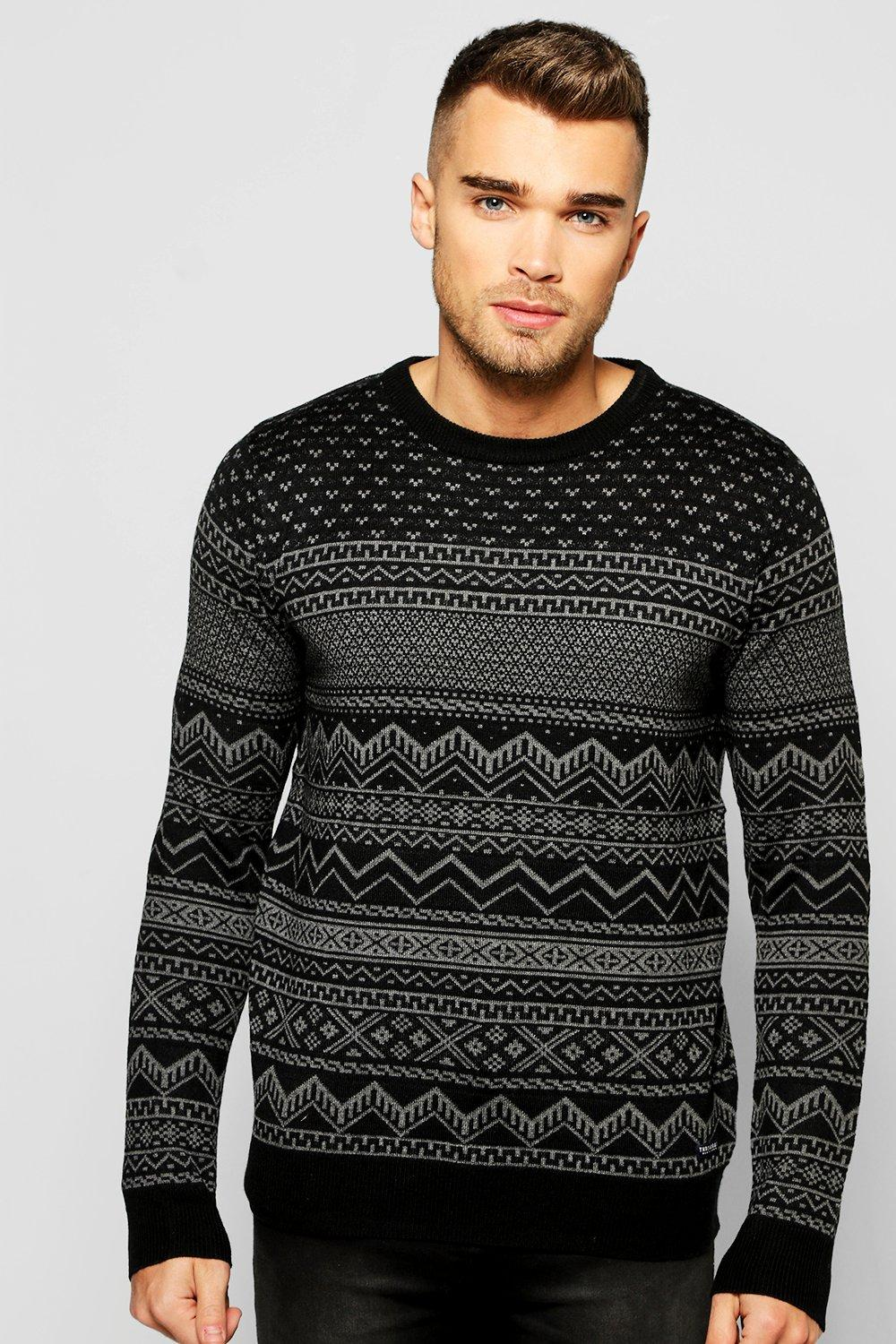 Product photo of Xmas jumper black