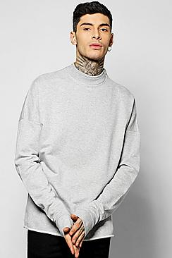 Extreme Drop Shoulder Oversized Sweater
