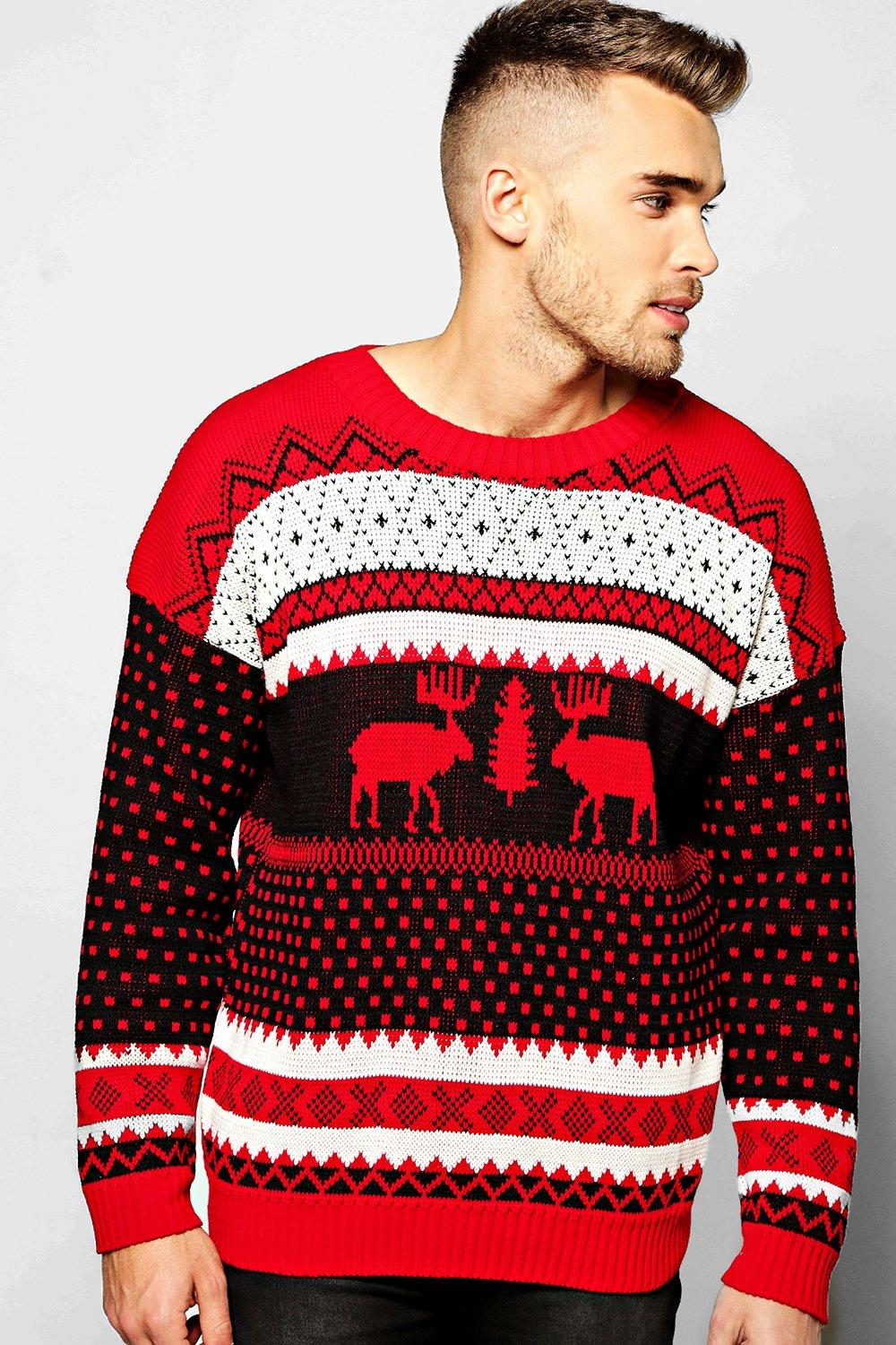 Product photo of Christmas jumper red
