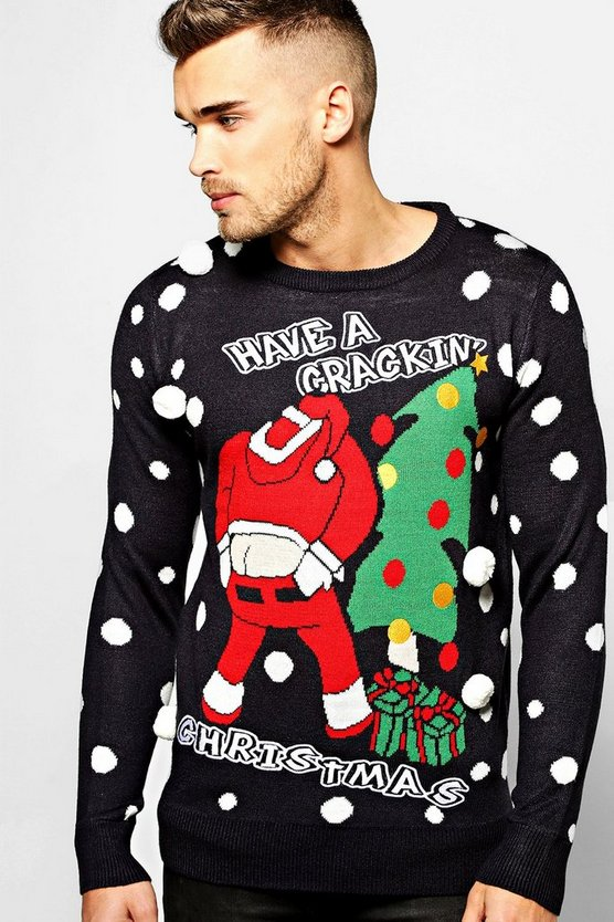 Crackin' Christmas Novelty Jumper