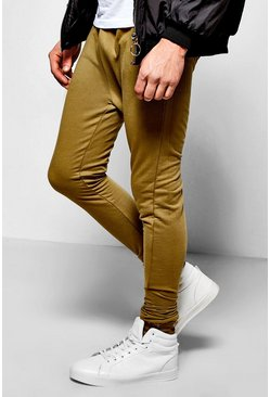 Skinny Fit Joggers With Zip Pockets