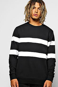 Multi Panel Sweatshirt