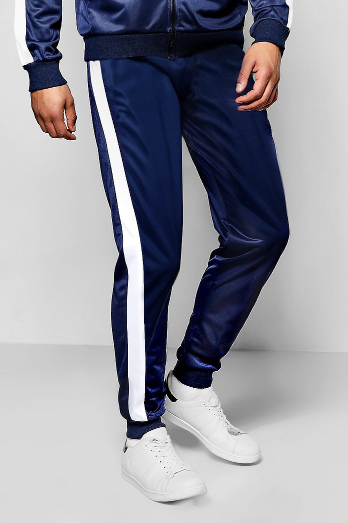 Skinny Fit Poly Tricot Joggers