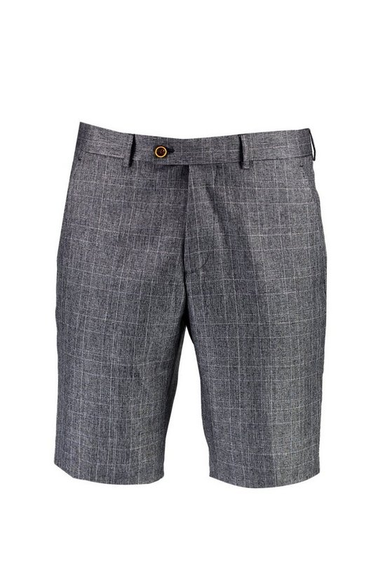 Tailored Check Shorts
