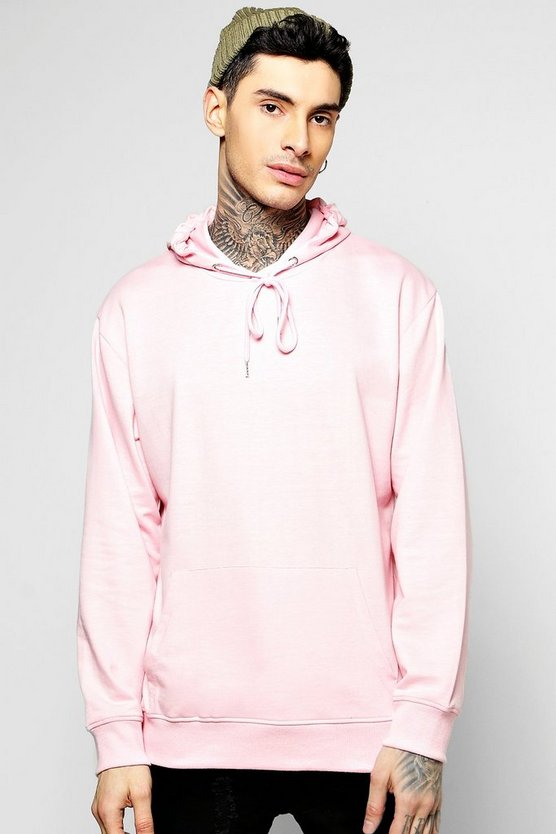 Basic Oversized Over The Head Hoodie