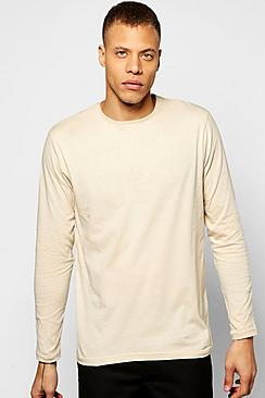 Long Sleeve Crew Neck T Shirt