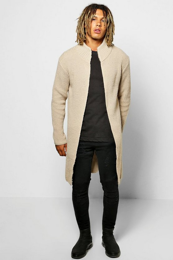 Smart Heavy Knitted Cardigan