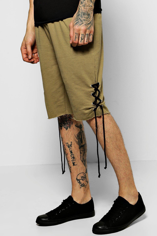 Detail Jersey Shorts  khaki