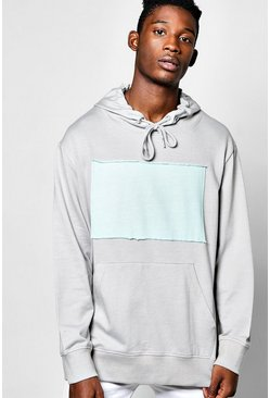 Oversized Over The Head Hoodie With Patch
