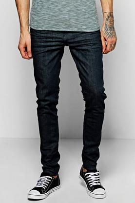 Slim Fit Heavy Wash Fashion Jeans