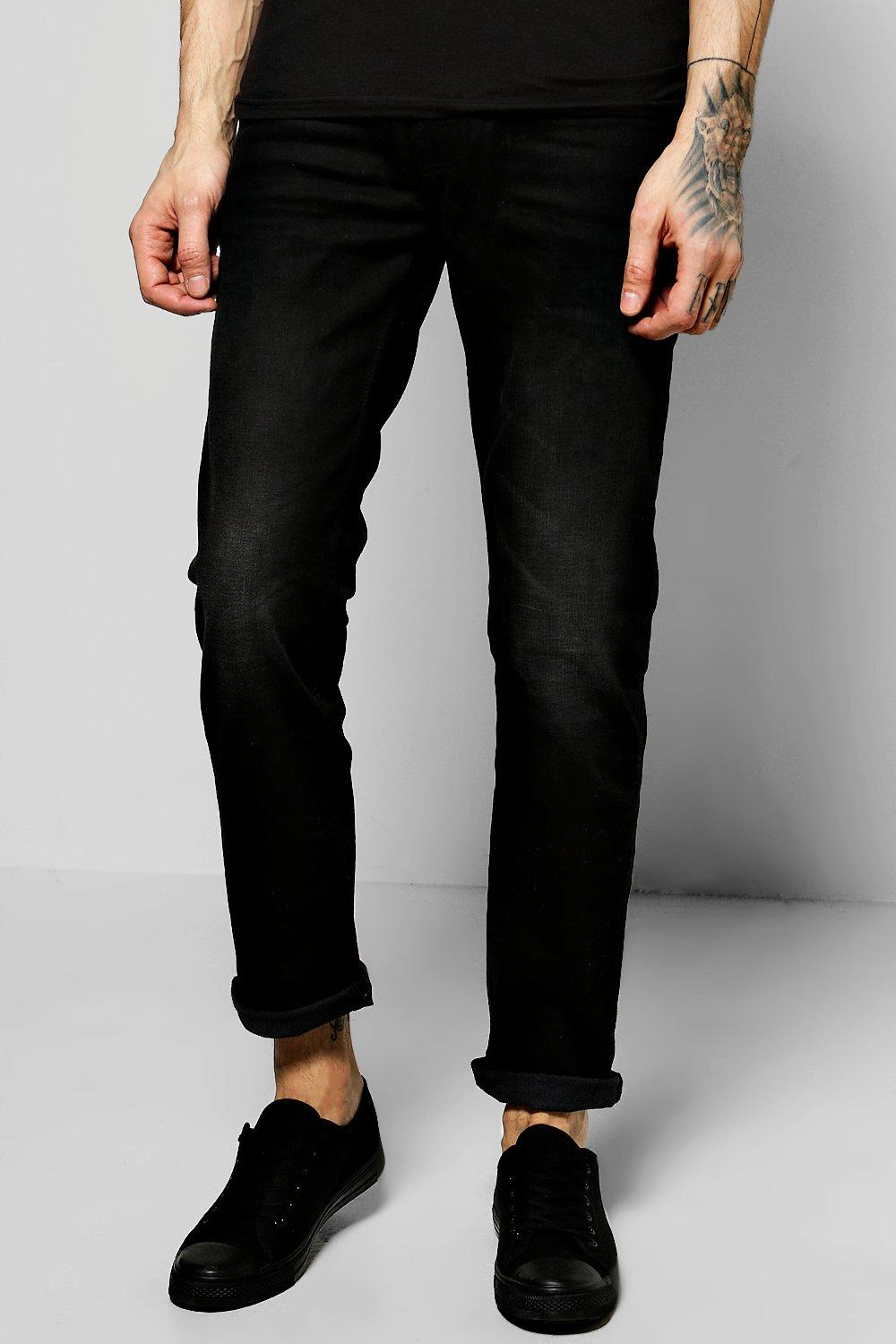 Skinny Fit Stone Washed Fashion Jeans