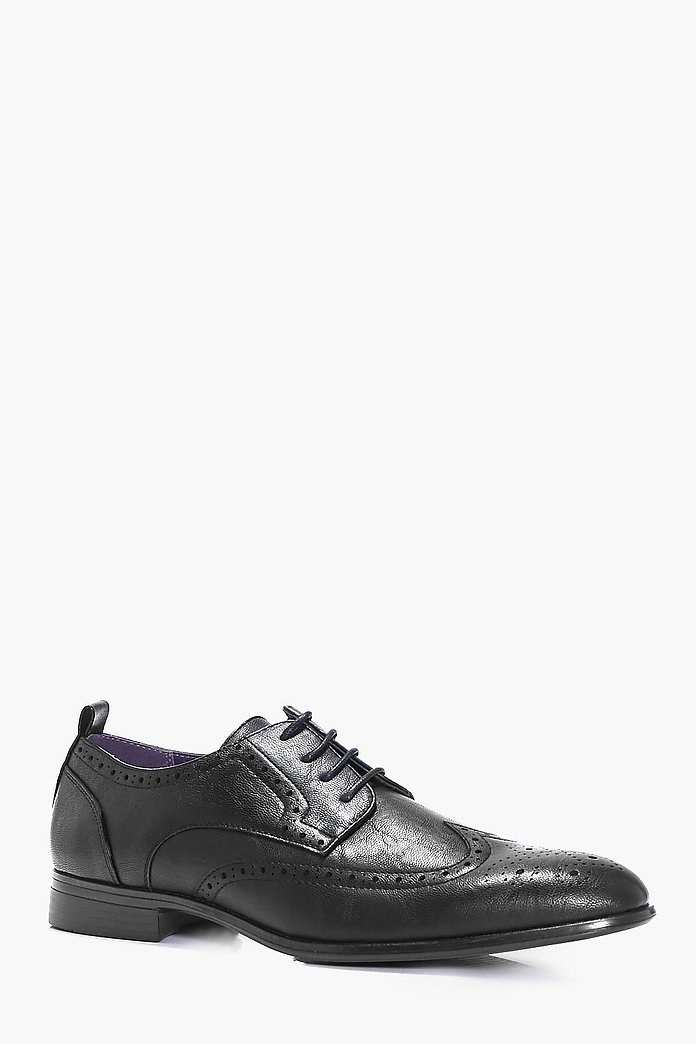 Smart Lace Up Brogue Shoes