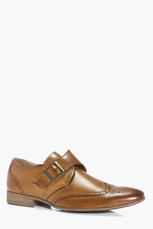 Single Strap Brogue Shoe