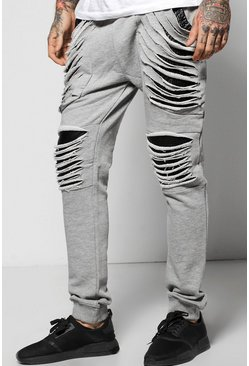 Skinny Extreme Distressed Joggers