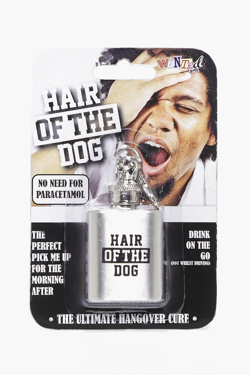 Hair Of The Dog Hip Flask Keychain