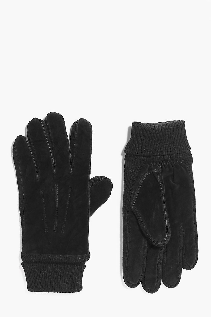 Real Suede Gloves