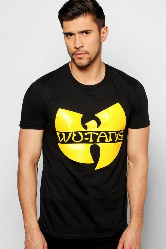 Wutang license t shirt boohoo for T shirt licensing agreement