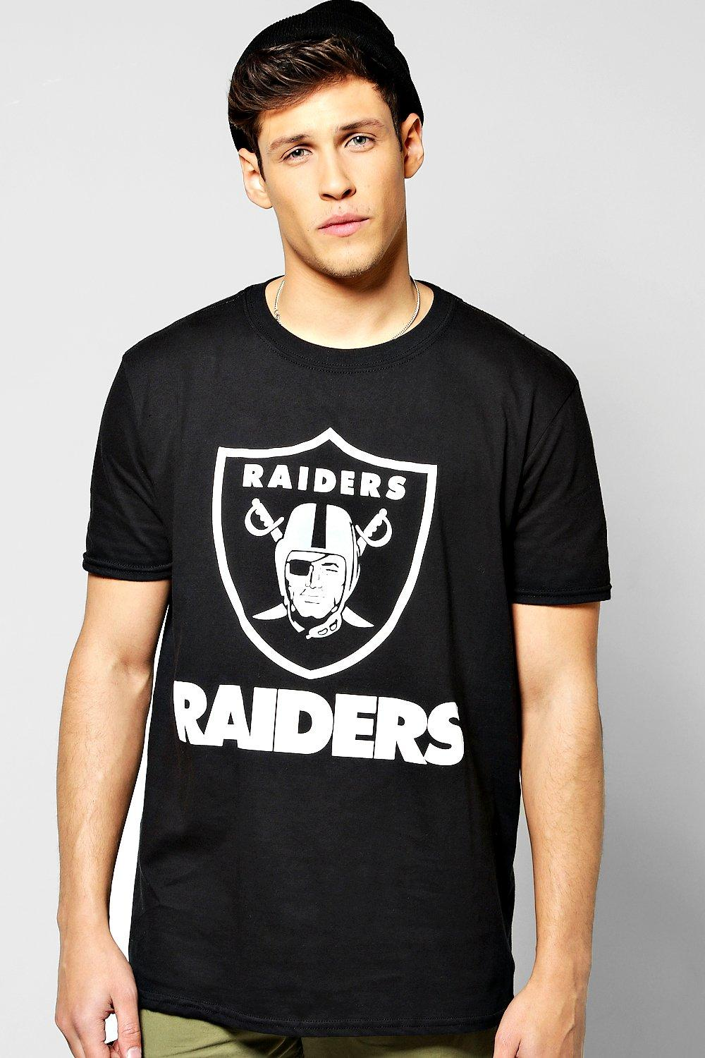 Oversized Raiders License T Shirt
