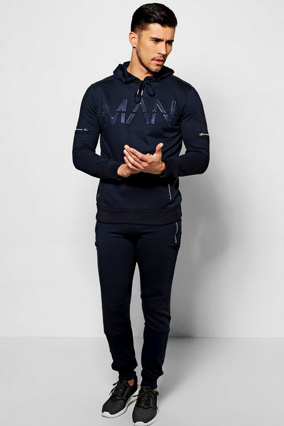 Skinny Fit Man Tracksuit