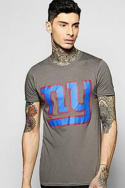 New York Giants License T Shirt