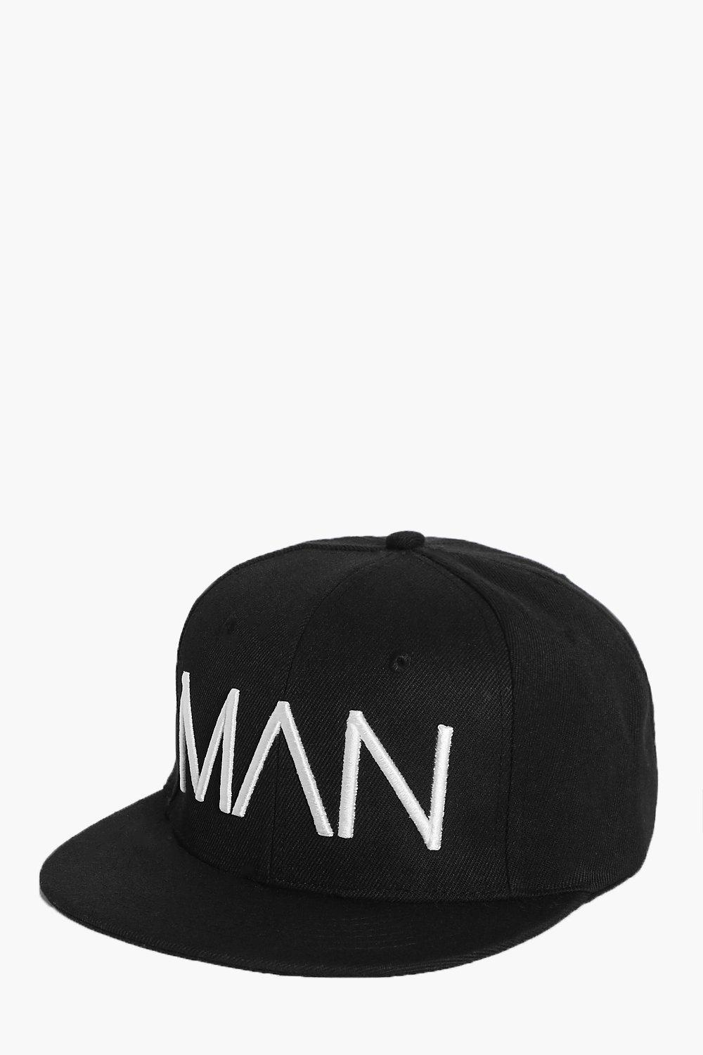 Edition BoohooMAN Snapback - black - Limited Editi