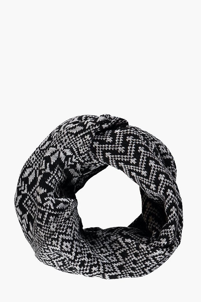Jaquard Snood