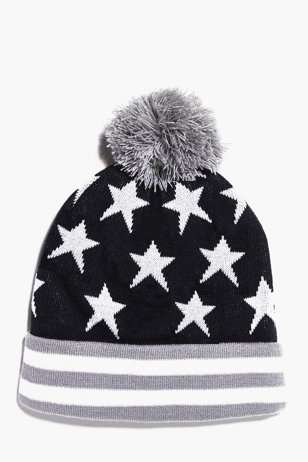 Stars And Stripes Bobble Hat