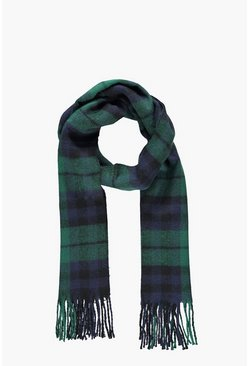 Large Check Scarf