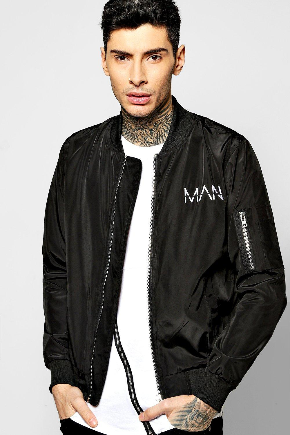 MAN Embroidered MA1 Bomber