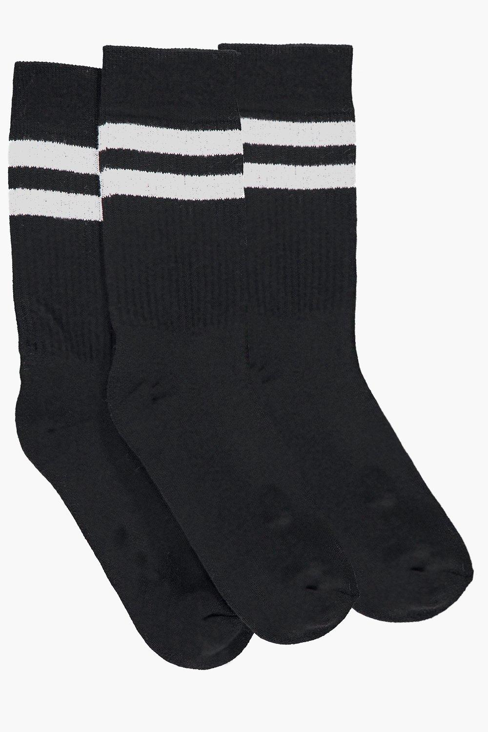 3 Pack Sports Tube Socks