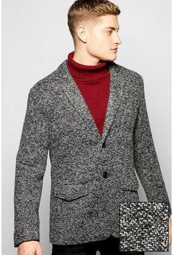 Flecked Casual Blazer