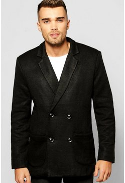 Flecked Double Breasted Smart Blazer