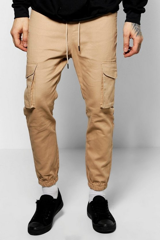 Skinny Fit Utility Joggers Cargo Pants