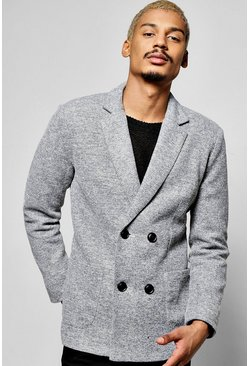 Double Breasted Smart Blazer