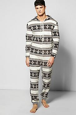 Fairisle Design Onesie