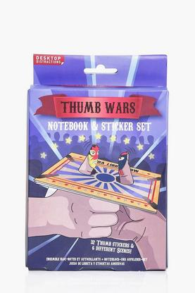 Thumb Wars Notebook