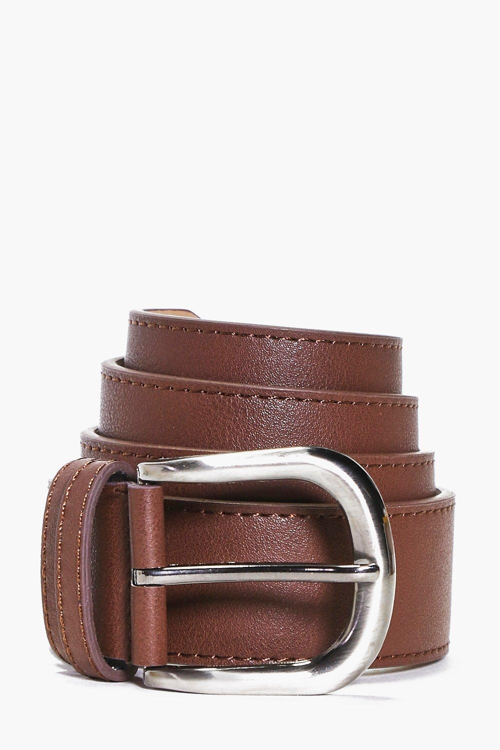 Smart PU Belt With Metal Buckle