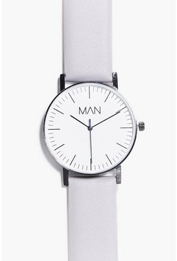 Classic Watch With PU Strap
