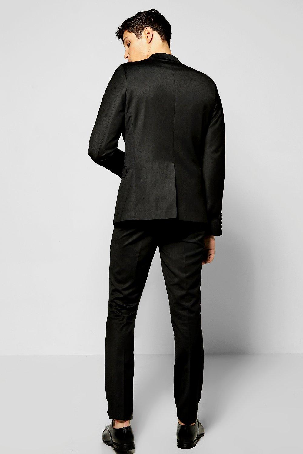 Skinny Fit Suit Trousers at boohoo.com