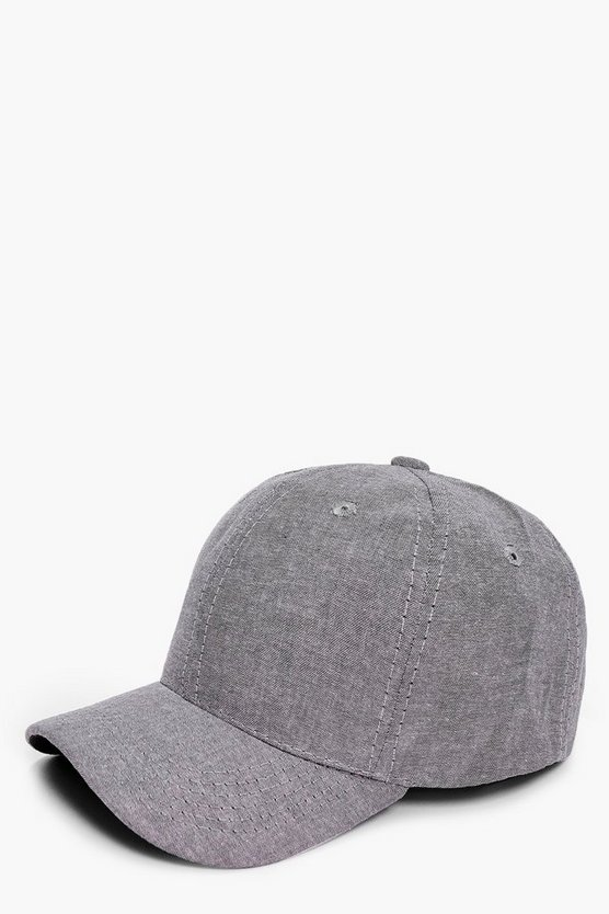 Chambray Look Snap Back
