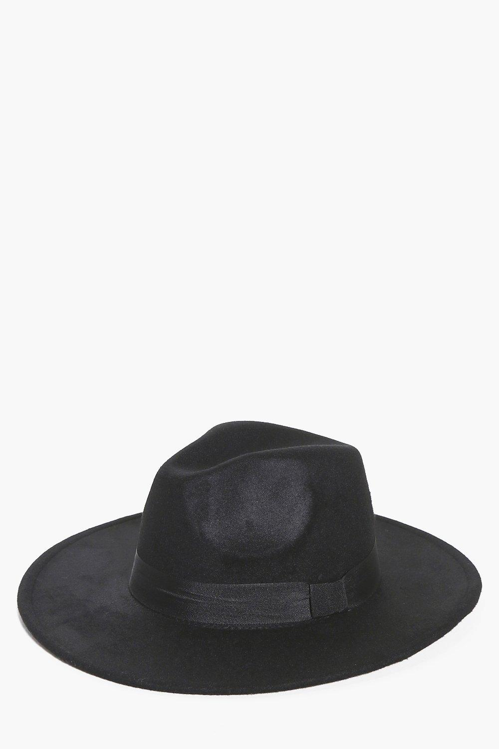 Wool Look Fedora